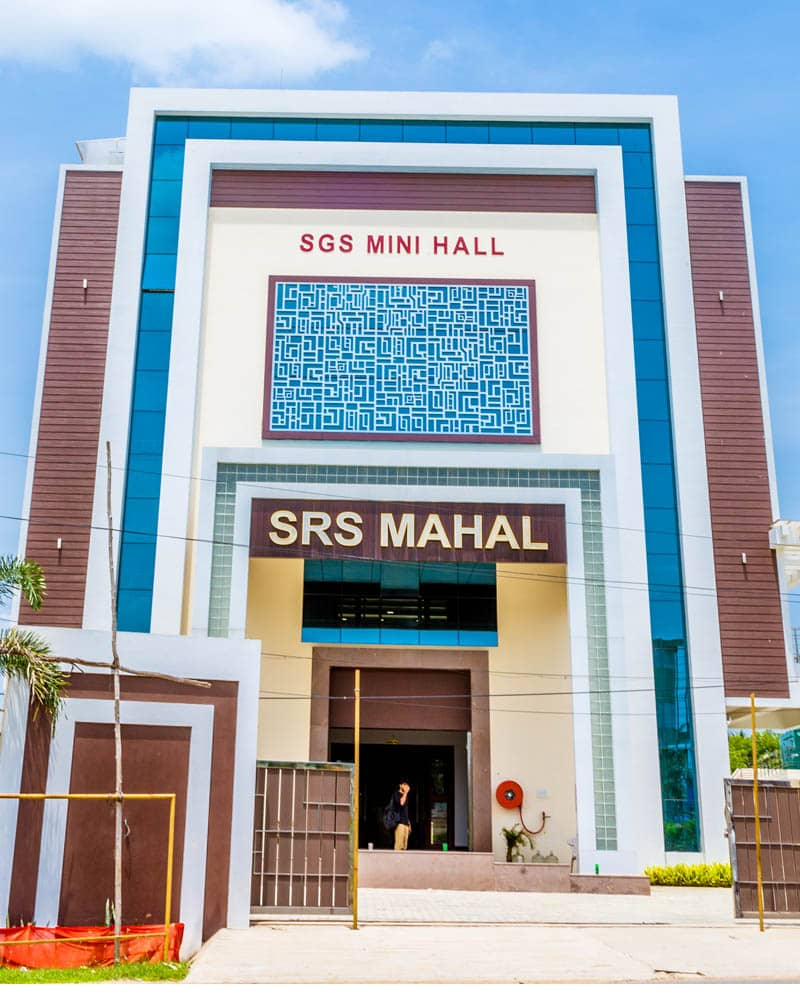 Srs Mahal Sgs Mini Mahal Marriage Hall In Chennai Gst Road